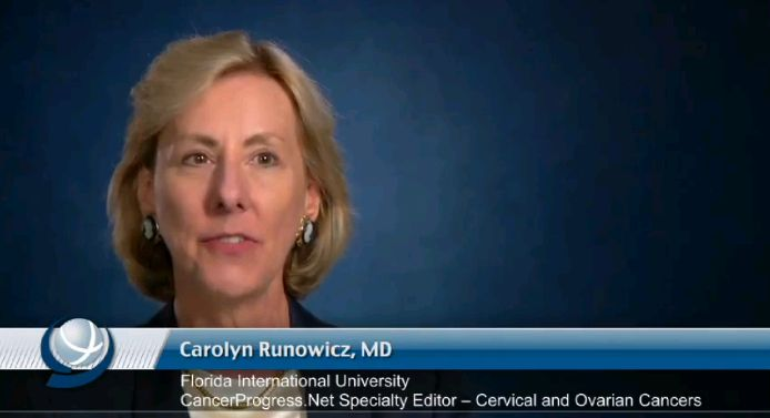 Progress Against Cervical and Ovarian Cancers with Dr. Carolyn Runowicz