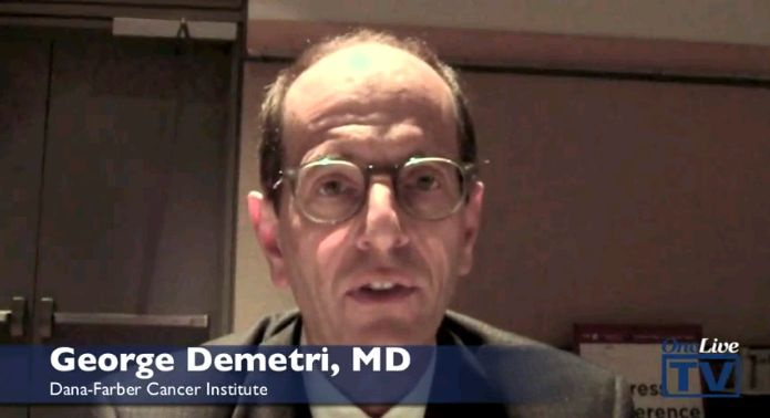 Dr. George Demetri Discusses Regorafenib for Patients with GIST Trial Results