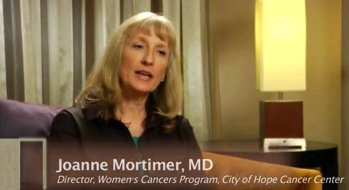 Joanne Mortimer, MD: Imaging of HER-2 Positive Metastatic Breast Cancer Using PET Technology