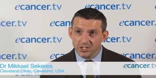 Combination therapy for high-risk MDS