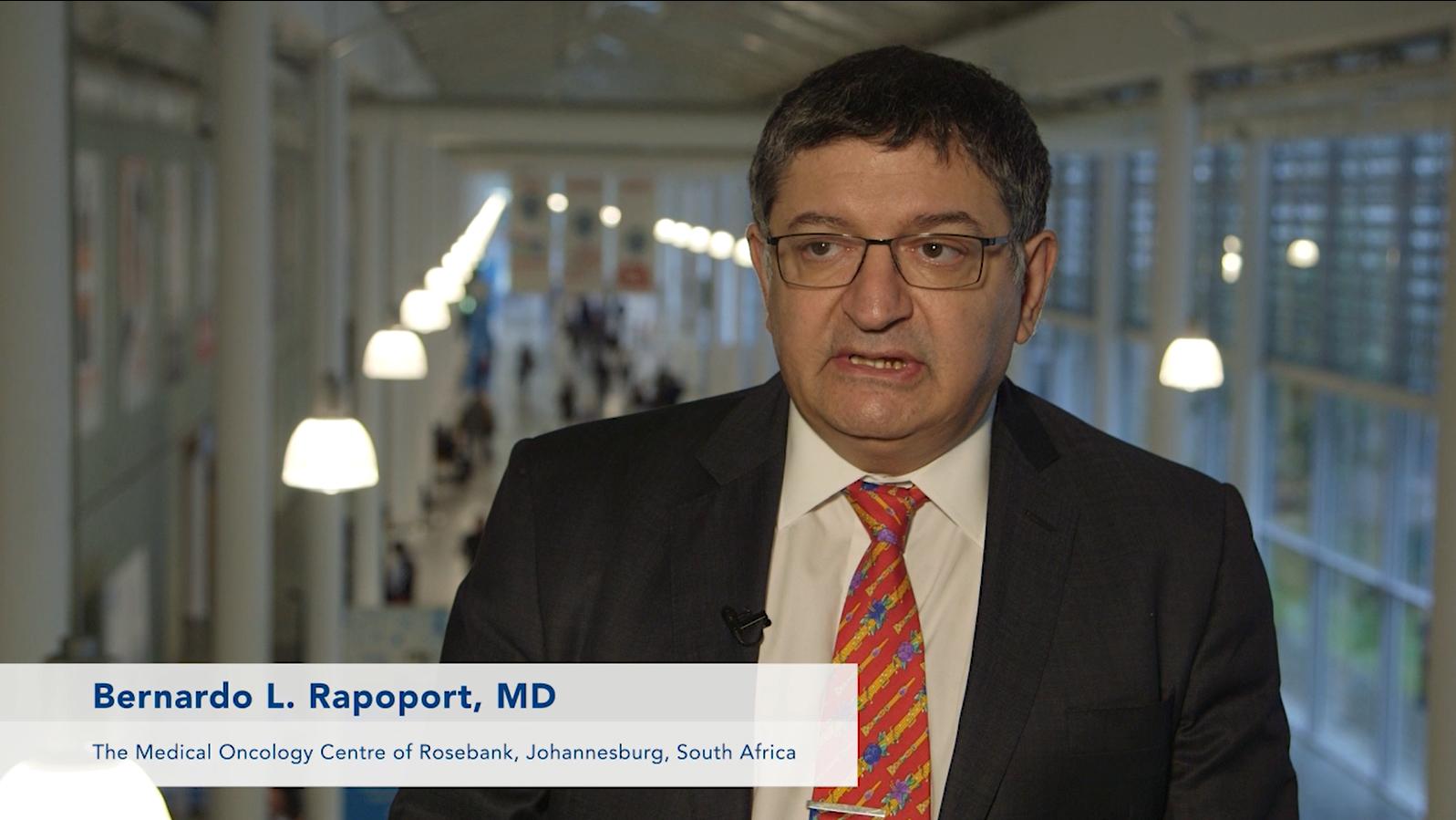 Bernardo Rapoport – ECC 2015, Vienna – Part 2: Clinical Impact of NK1-receptor Antagonists in CINV