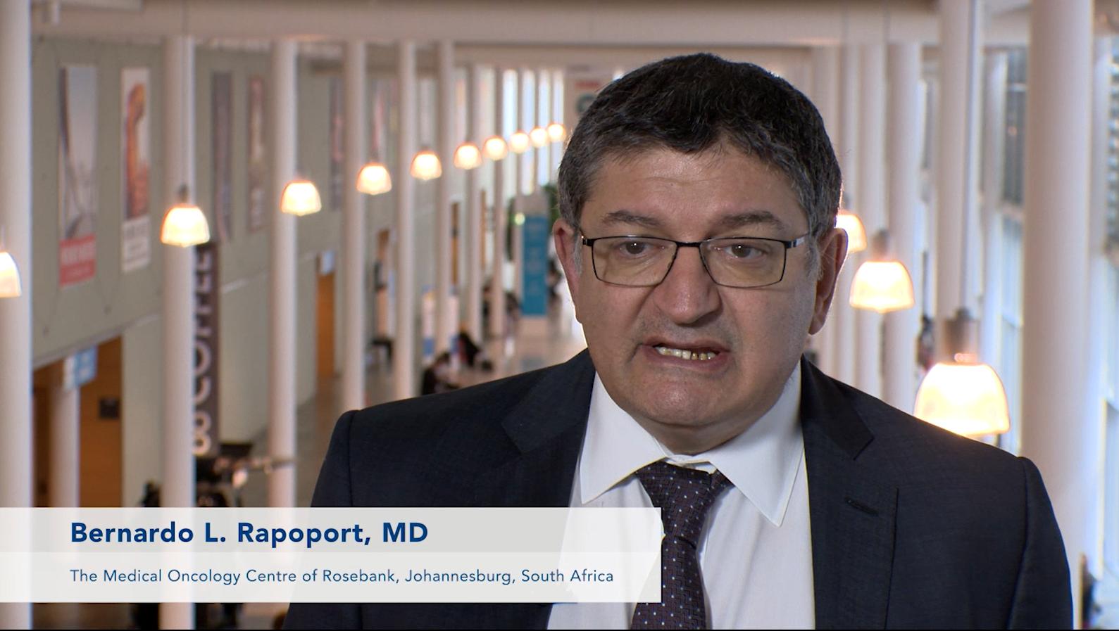 Bernardo Rapoport – ECC 2015, Vienna – Part 4: Unmet Needs in Supportive Cancer Care