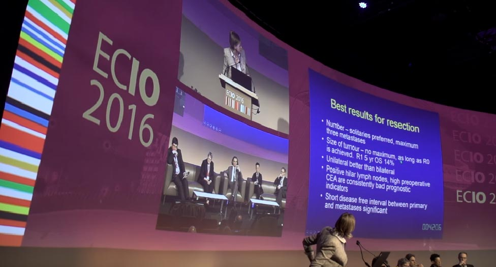 ECIO 2016: Ablation of lung cancers