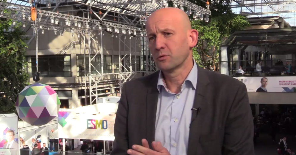 ESMO 2016 Frédéric Amant Interview