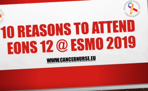 10 reasons to attend EONS12 @ ESMO 2019